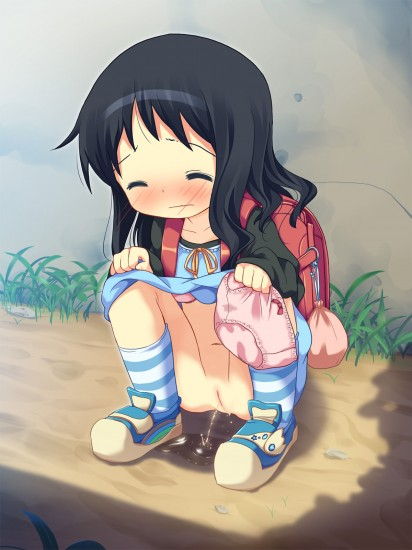 Peeing Girls Lolicon Images 3 (2)