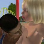 Lolicon 3D Images Girls and dogs Tessi on the playground 2 (26)