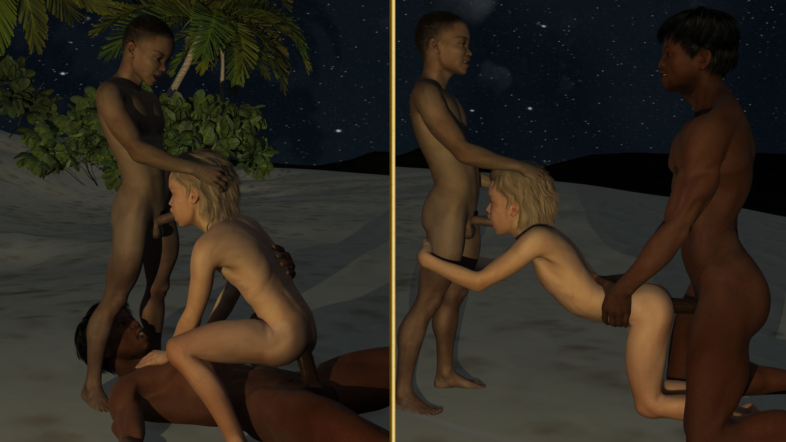 shemale joins in with a couple and they have a titillating three