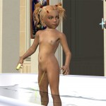 Peeing Kids Shotacon Lolicon 3D Images (17)