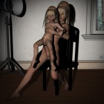 Mom and Daughter Photo Shoot Lolicon 3D Images (9)